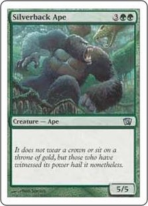 Magic the Gathering Eighth Edition Single Card Uncommon #7 Silverback Ape