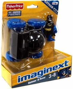Imaginext DC Super Friends Exclusive Gotham City Collection Figure Batman & Rover