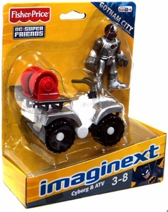Imaginext DC Super Friends Exclusive Gotham City Collection Figure Cyborg & ATV