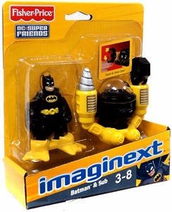 Imaginext DC Super Friends Figure Batman & Sub