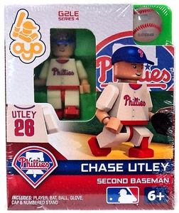 OYO Baseball MLB Generation 2 Building Brick Minifigure Chase Utley [Philadelphia Phillies]