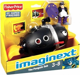 Imaginext DC Super Friends Penguin Sub [Penguin Figure]