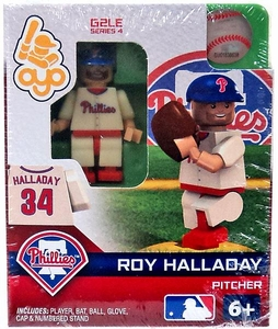OYO Baseball MLB Generation 2 Building Brick Minifigure Roy Halladay [Philadelphia Phillies]