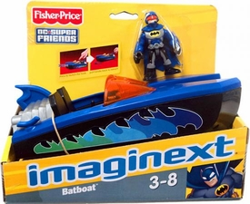 Imaginext DC Super Friends Batboat [Includes Batman Figure]