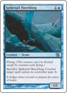 Magic the Gathering Eighth Edition Single Card Uncommon #102 Spiketail Hatchling