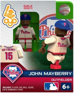 OYO Baseball MLB Generation 2 Building Brick Minifigure John Mayberry [Philadelphia Phillies]