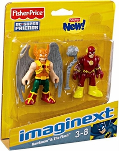 Imaginext DC Super Friends Figure 2-Pack Hawkman & Flash
