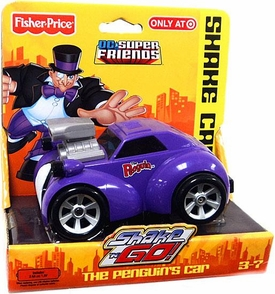 Imaginext DC Super Friends Exclusive Shake 'N Go The Penguin's Car