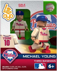 OYO Baseball MLB Generation 2 Building Brick Minifigure Michael Young [Philadelphia Phillies]