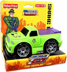 Imaginext DC Super Friends Exclusive Shake 'N Go The Riddler's Car