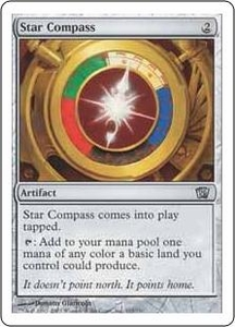 Magic the Gathering Eighth Edition Single Card Uncommon #315 Star Compass