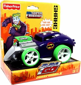 Imaginext DC Super Friends Exclusive Shake 'N Go Jokermobile