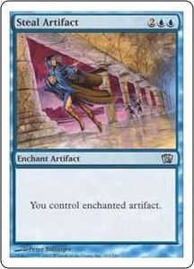 Magic the Gathering Eighth Edition Single Card Uncommon #103 Steal Artifact