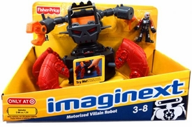 Imaginext Robot Police Motorized Villain Robot