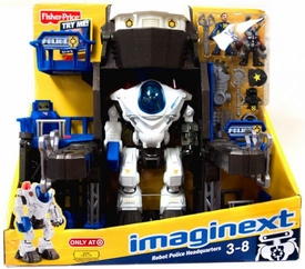 Imaginext Exclusive Set Robot Police Headquarters