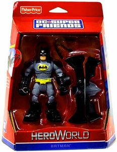 DC Super Friends Hero World Action Figure Batman with Batarang