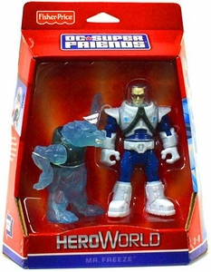 DC Super Friends Hero World Action Figure Mr. Freeze with Polar Bear