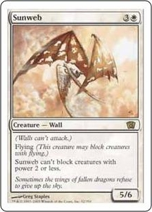 Magic the Gathering Eighth Edition Single Card Rare #52 Sunweb