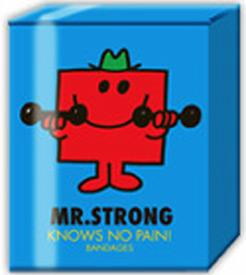 Mr. Strong Knows No Pain! Bandages