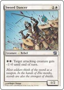 Magic the Gathering Eighth Edition Single Card Uncommon #53 Sword Dancer