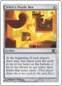 Magic the Gathering Eighth Edition Single Card Rare #316 Teferi's Puzzle Box