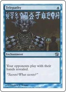 Magic the Gathering Eighth Edition Single Card Uncommon #105 Telepathy