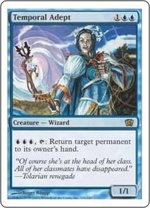 Magic the Gathering Eighth Edition Single Card Rare #106 Temporal Adept