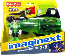 Imaginext DC Super Friends Green Lantern with Jet