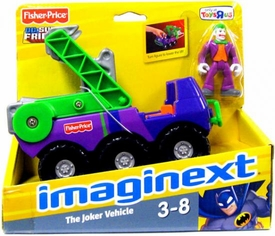 Imaginext DC Super Friends Joker with Vehicle