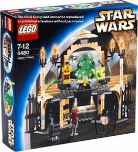 LEGO Star Wars Set #4480 Jabba's Palace