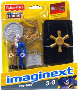 Imaginext DC Super Friends Figure Two-Face with Safe