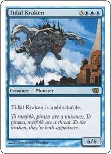 Magic the Gathering Eighth Edition Single Card Rare #108 Tidal Kraken