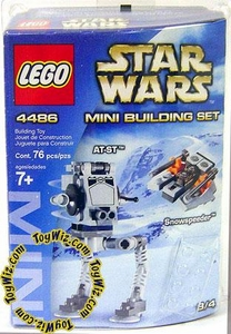 LEGO Star Wars Mini Set #4486 AT-ST & Snowspeeder