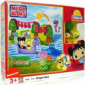 Ni Hao, Kai-lan & Friends Mega Bloks Set #3131 Dragon Boat
