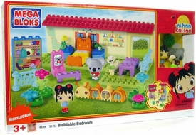 Ni Hao, Kai-lan & Friends Mega Bloks Set #3135 Buildable Bedroom