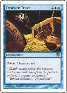 Magic the Gathering Eighth Edition Single Card Uncommon #110 Treasure Trove