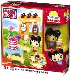 Ni Hao, Kai-lan & Friends Mega Bloks Set #3137 Mister Fluffy's Bakery