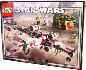 LEGO Star Wars Original Trilogy Edition Set #4502 X-Wing Fighter Slight Wear on Box, Unopened, Mint Contents!