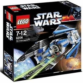 LEGO Star Wars Set #6206 TIE Interceptor