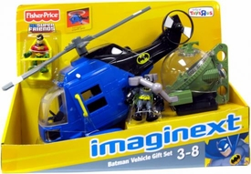 Imaginext DC Super Friends Exclusive Batman Vehicle Gift Set [Batcopter, Batsub, Batman & Robin]