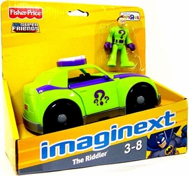 Imaginext DC Super Friends The Riddler with Riddler's Car