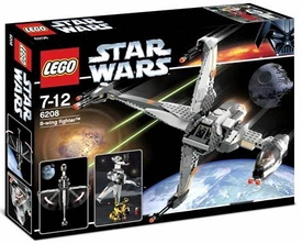 LEGO Star Wars Set #6208 B-Wing Fighter