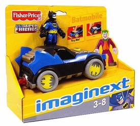 Imaginext DC Super Friends Figure & Vehicle Batmobile