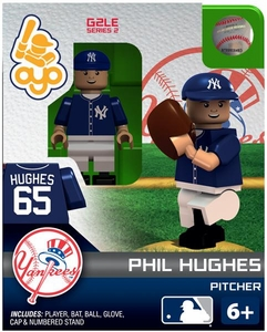 OYO Baseball MLB Generation 2 Building Brick Minifigure Phil Hughes [New York Yankees]