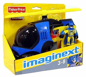 Imaginext DC Super Friends Figure & Vehicle Batcopter