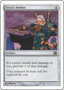 Magic the Gathering Eighth Edition Single Card Rare #318 Urza's Armor