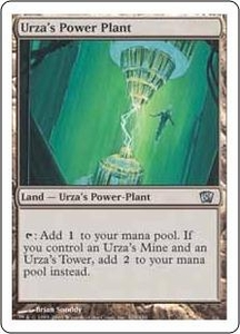 Magic the Gathering Eighth Edition Single Card Uncommon #329 Urza's Power Plant