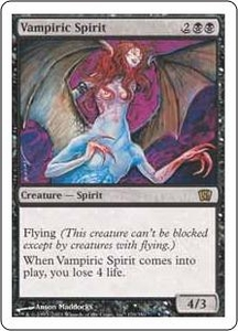 Magic the Gathering Eighth Edition Single Card Rare #170 Vampiric Spirit