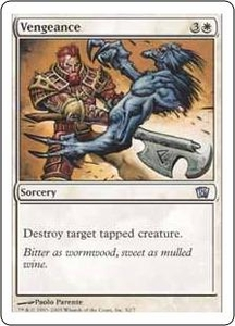 Magic the Gathering Eighth Edition Single Card Uncommon #2 Vengeance