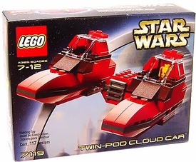 LEGO Star Wars Set #7119 Twin-Pod Cloud Car